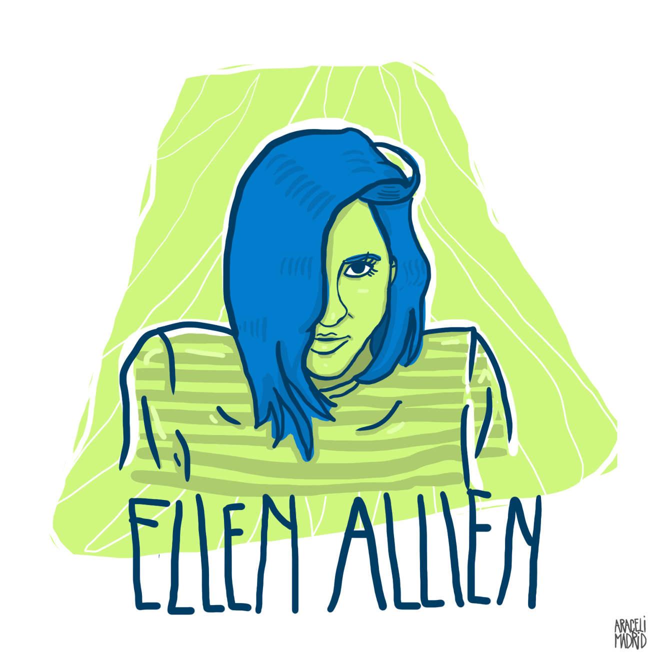 Ellen Allien Djs ilustrados