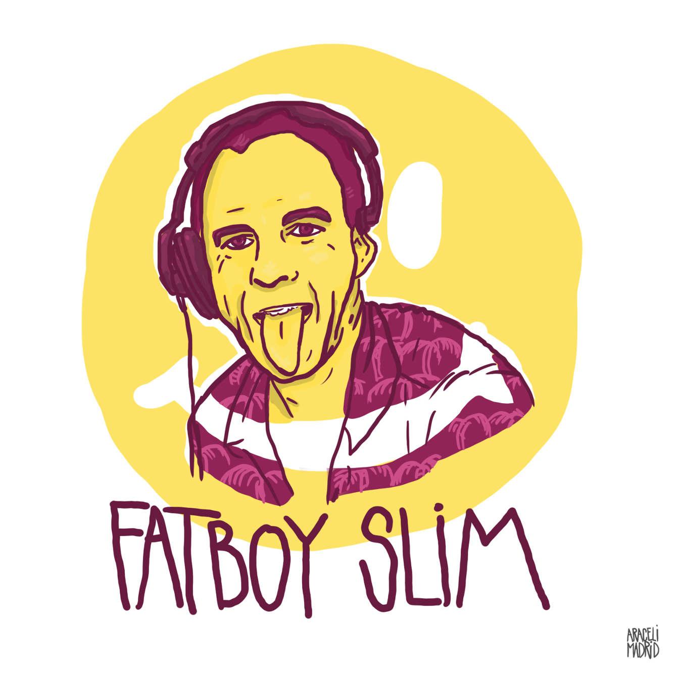 Fatboy Slim Djs ilustrados
