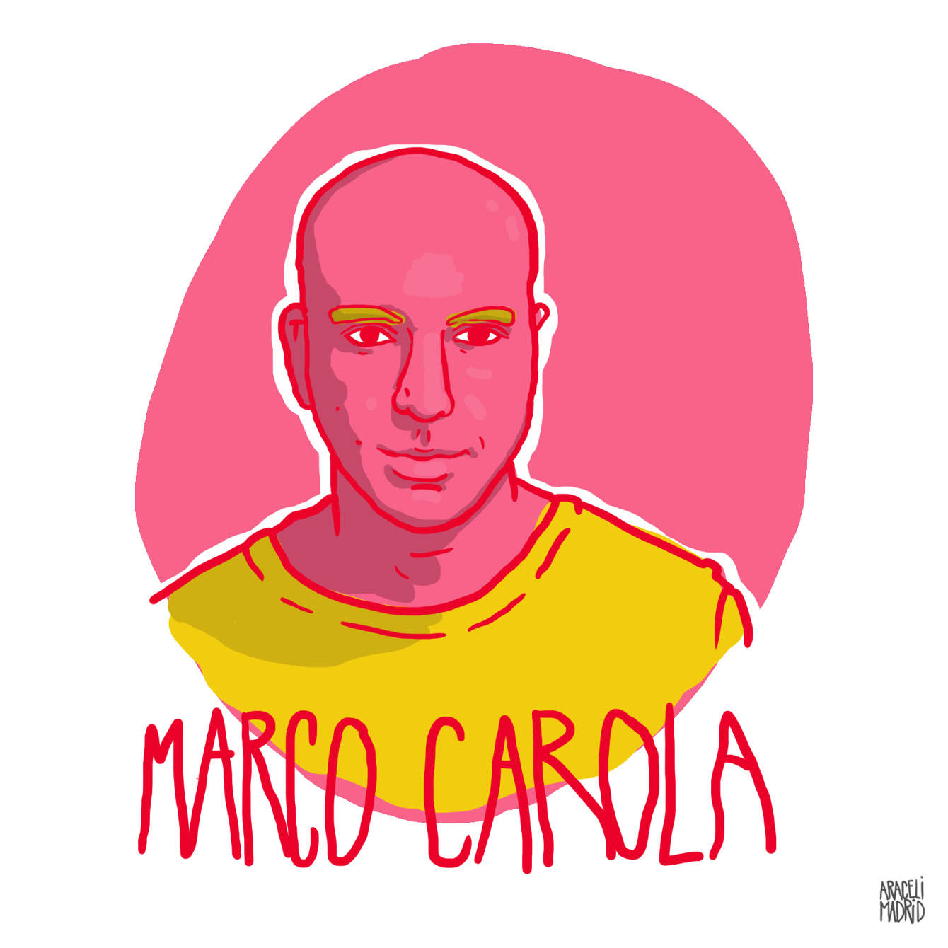 Marco Carola Djs ilustrados