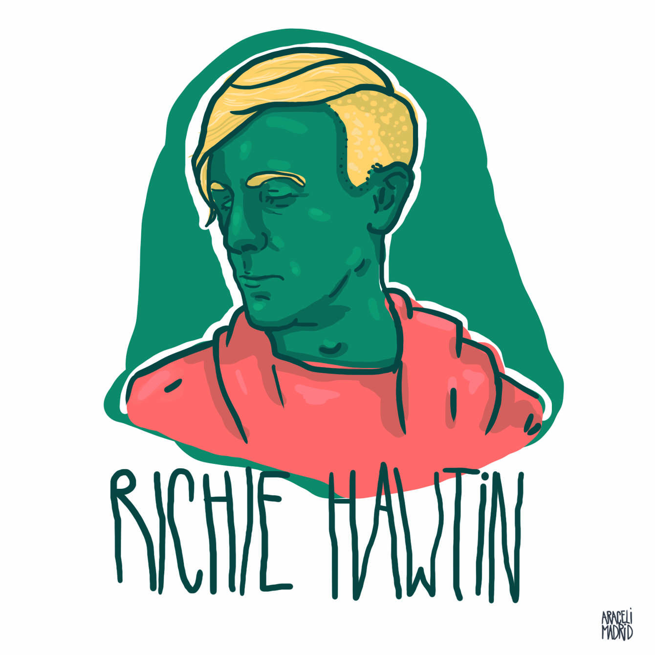 Richie Hawtin Djs ilustrados