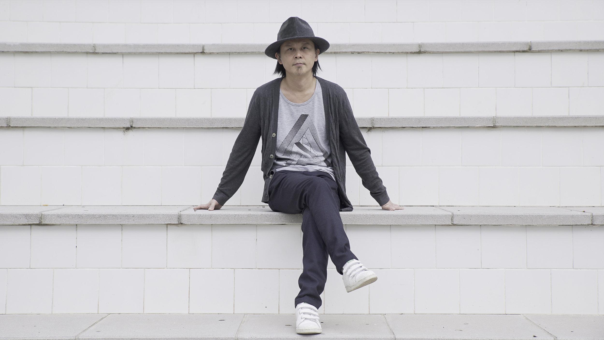 Ken Ishii (70 Drums/JAP). Barcelona, recently. Photo © Guayarmina Amador.