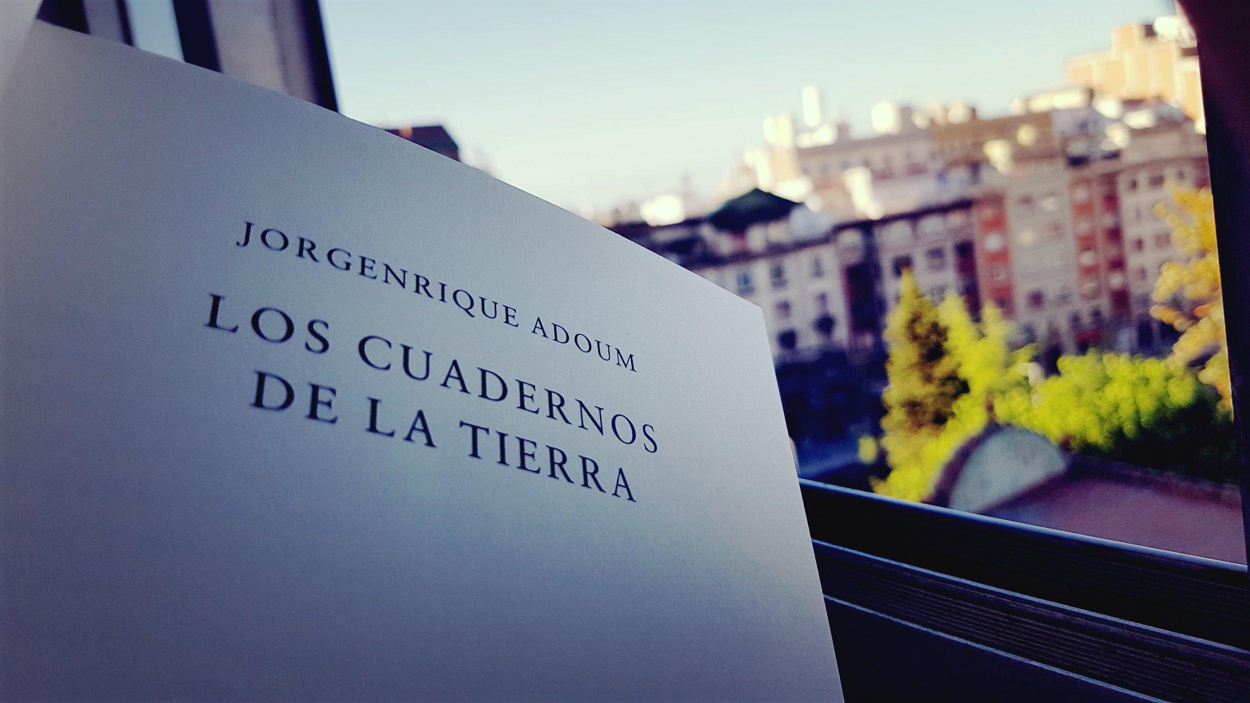 Los cuadernos de la tierra Jorgenrique Adoum