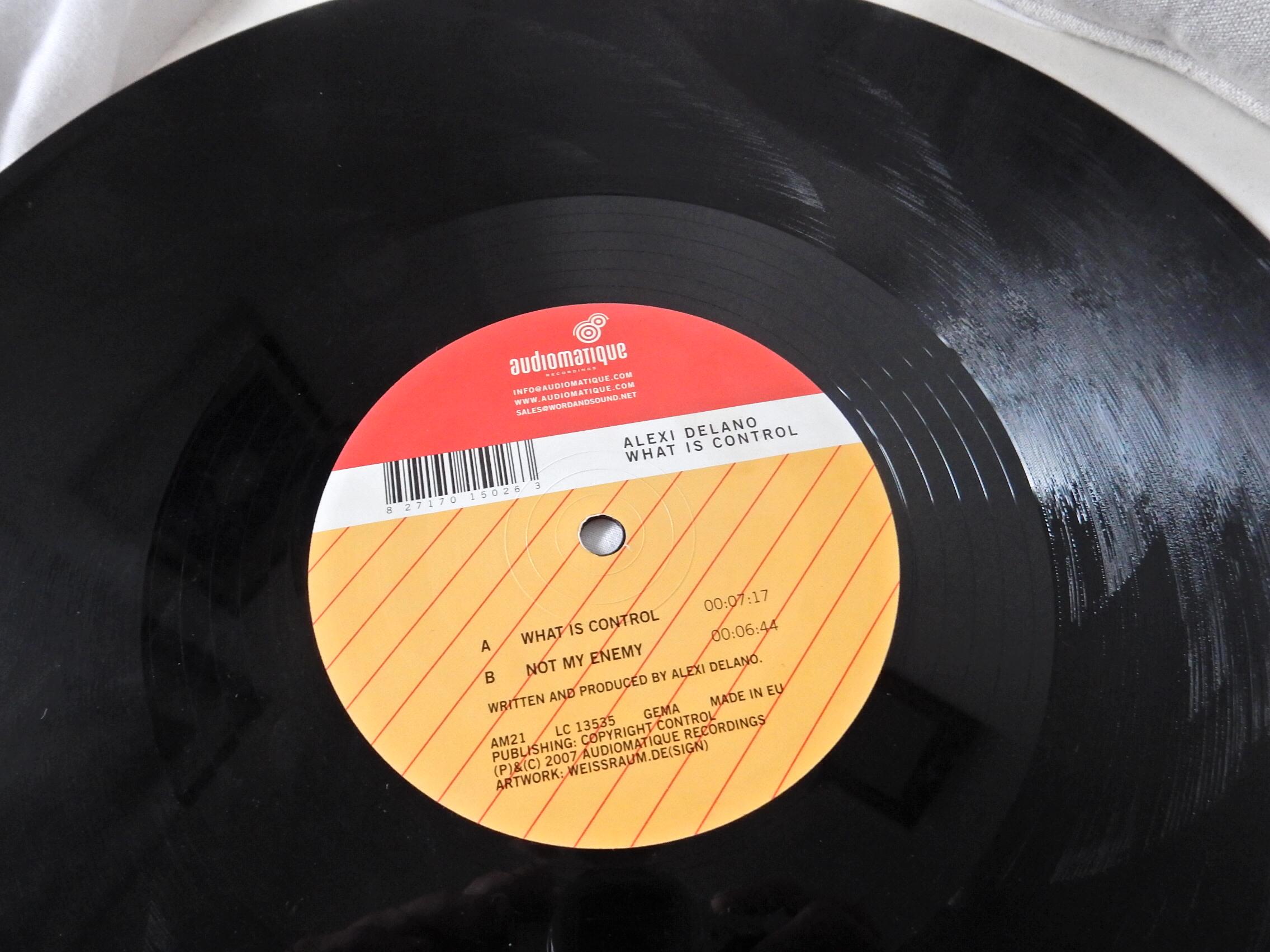 My first Audiomatique Vinyl. 2007.
