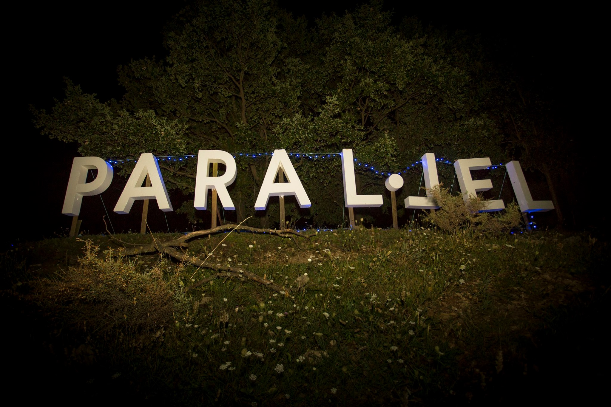 El Techno Hollywood cartel de Paral·lel Festival. Pic by Dídac Ramírez.