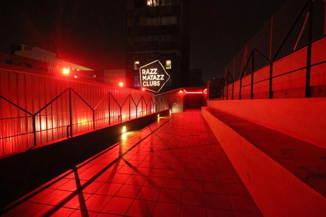 Sábado Noche: Razzmatazz - Black Merlin (UK)Squaric (Diffuse Reality)Iro Aka (ES)