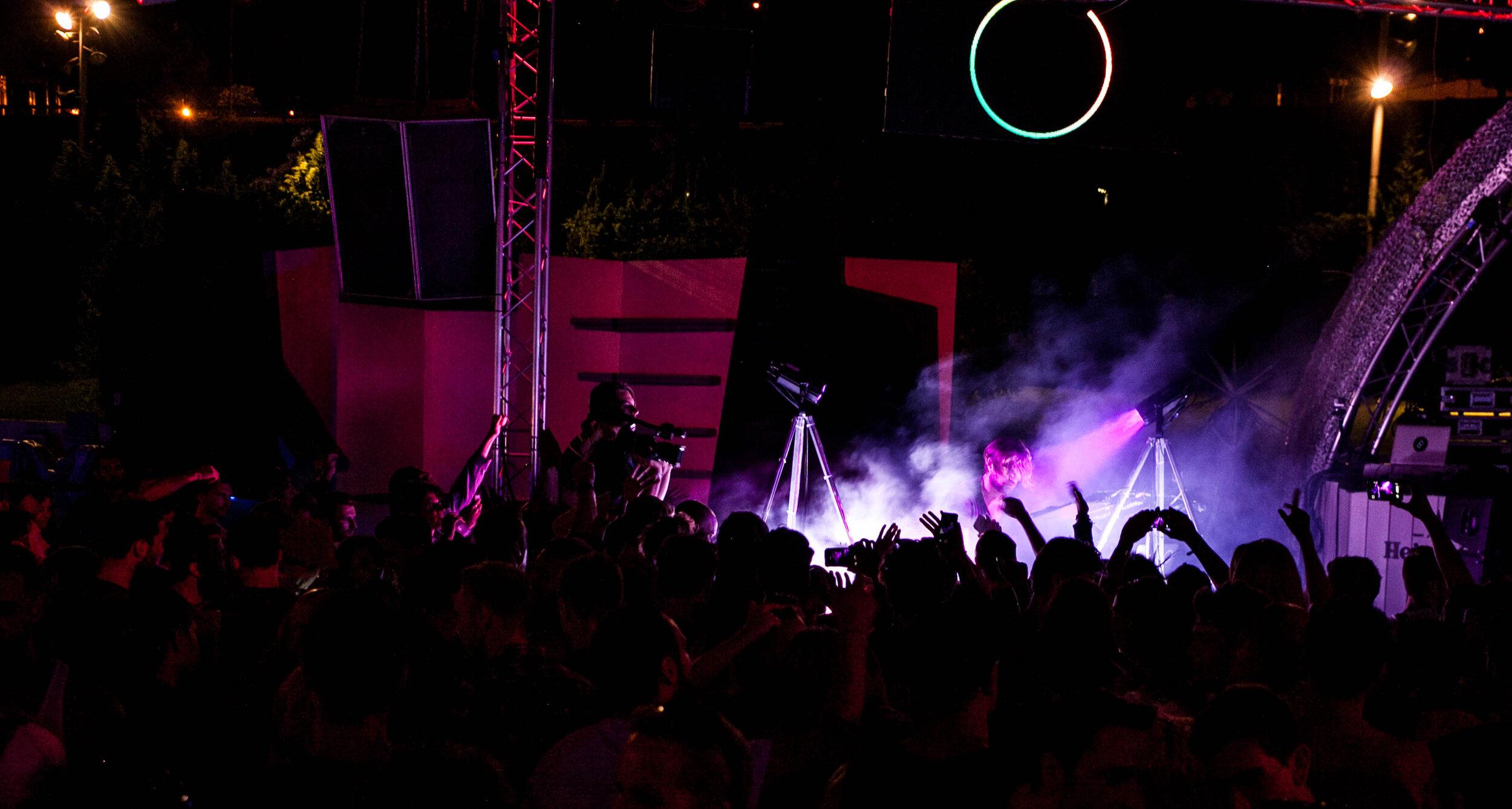 Rodriguez Jr. Live en su show Visualized. 2016, Barcelona. Pic by Marta Vilardell.