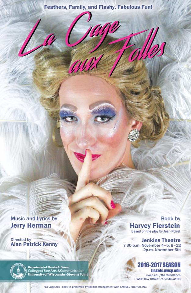 Phaedra Poster for La Cage Aux Folles
