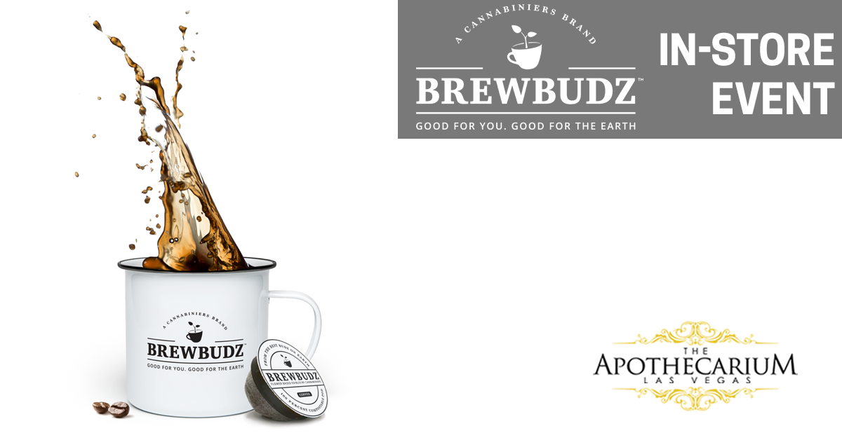 Brewbudz cannabis-infused pods for the Keurig are available from The Apothecarium marijuana dispensaries. Cannabis-infused tea, coffee and cocoa to start your day!