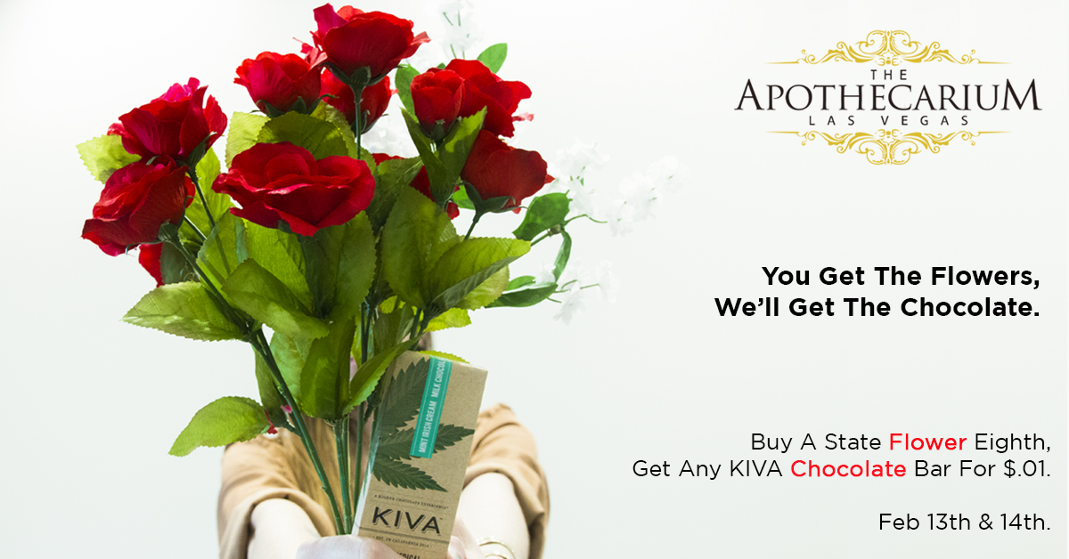 the apothecarium las vegas a recreational and medical marijuana dispensary discuss their valentines day specials