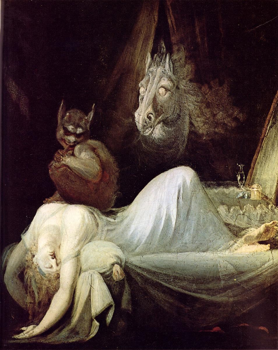 The Nightmare, 1790-91, Henry Fuseli, Goethehaus (Frankfurt)