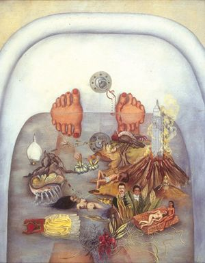 What the Water Gave Me, 1938, Frida Kahlo