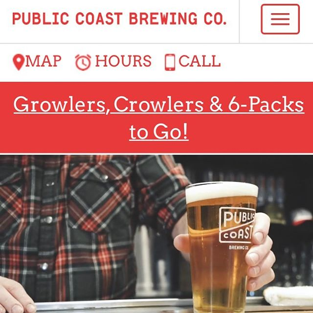 Check out our full video, now live on the website of @publiccoastbrewing  Do you need a video for YOUR website?  Yes.
