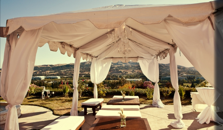 Gorgeous outdoor tenting ideas