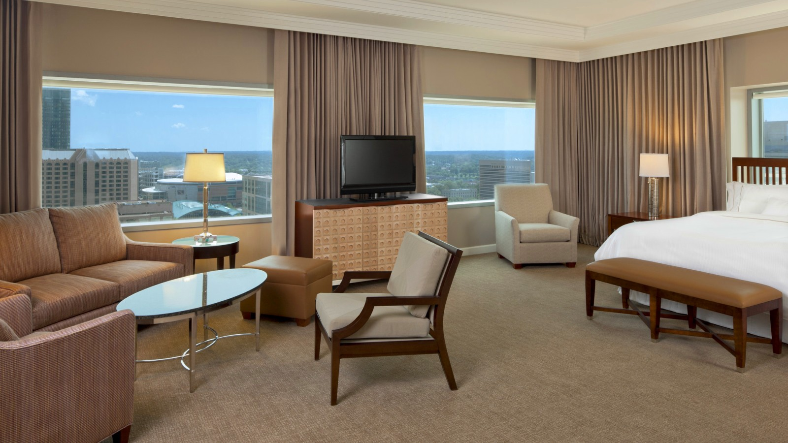 The Presidential Suite at the Westin, Charlotte