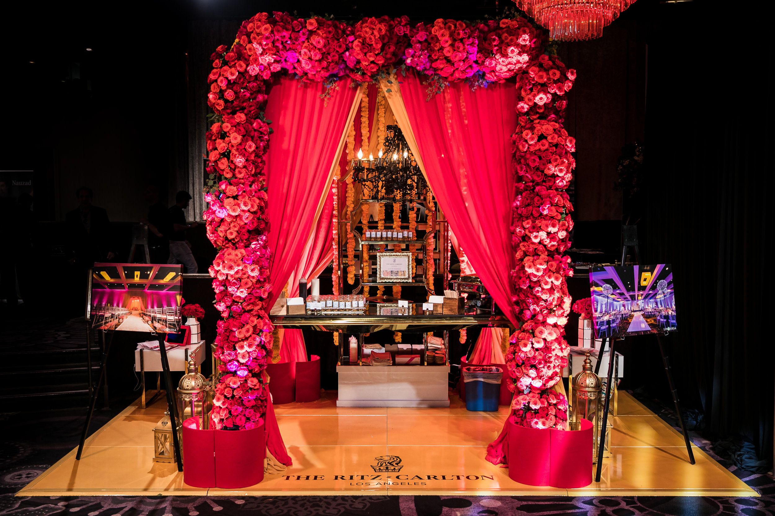 A Mandap as part of a Wedding Showcase