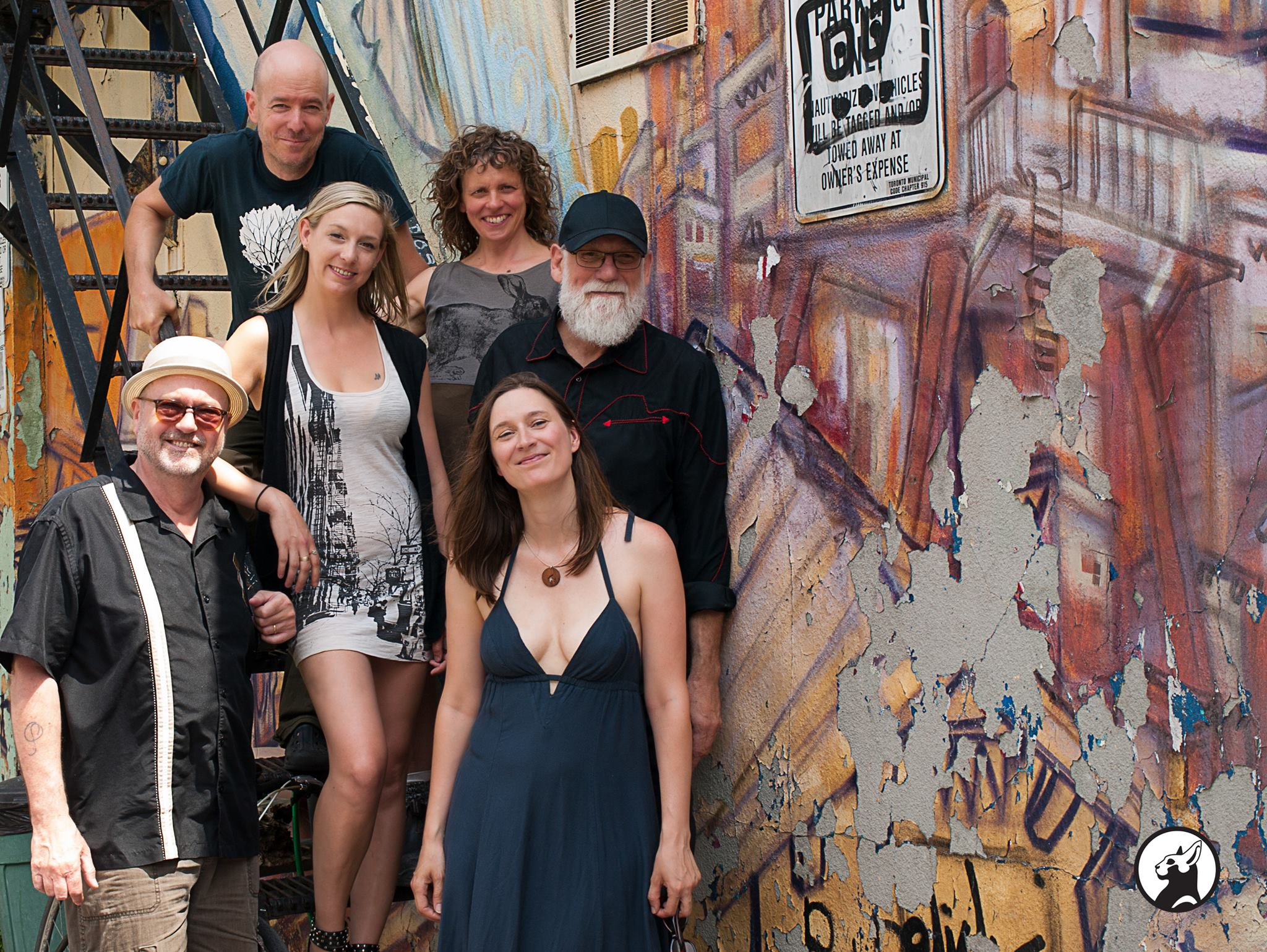 Photo by: Noir Kitty  Outside of the Tranzac Club after the Bloor Street festival show June 2016 photo by Noir Kitty