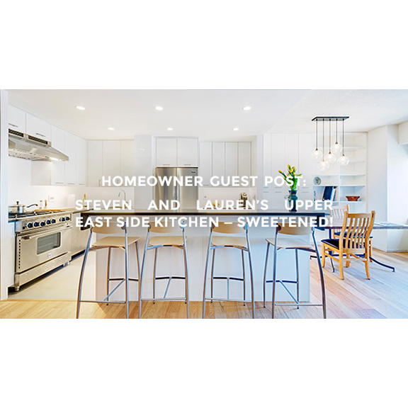 The Upper East Side Apartment Renovation is featured on Sweeten's blog.