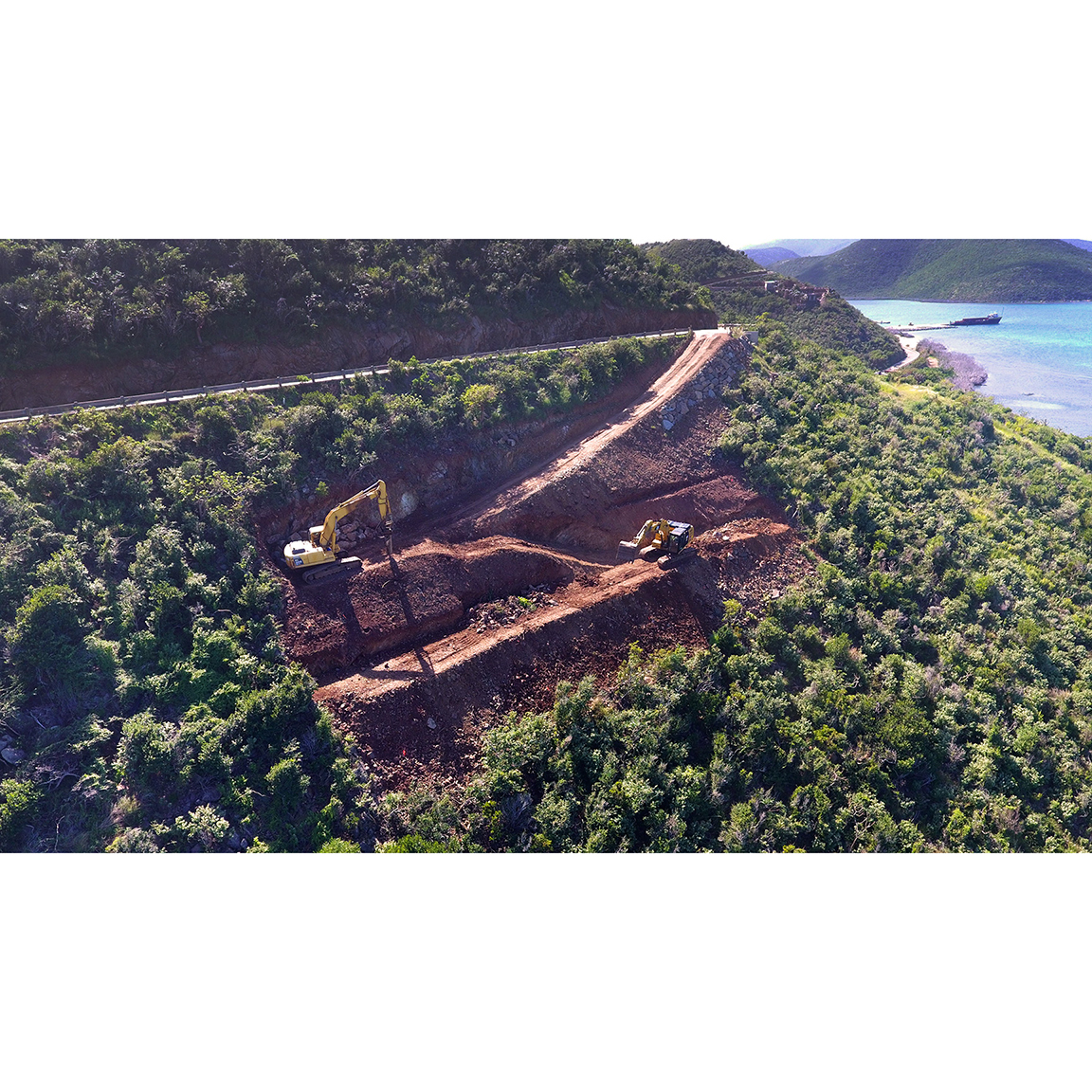 Construction Update: Excavation moving along on our Oil Nut Bay Residence