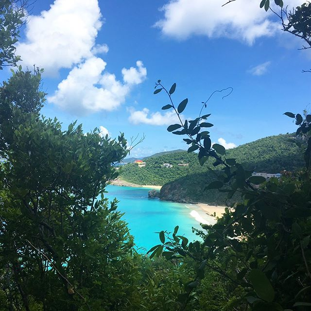 Sneaky views at a new project site.  Trunk Bay, Tortola, BVI . . . #architecture #design #site #sitevisit #caribbean #villa #interiordesign #construction