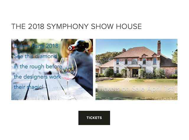 Tickets for the Symphony Show House are available online for only $15! Link in the bio #SymphonyShowHouse #OCOL