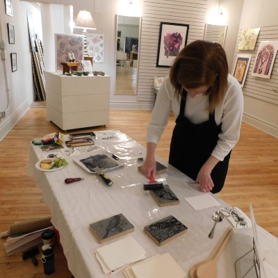 Katharine Silent Water   Katharine Silent Water is a nomadic print maker and painter.