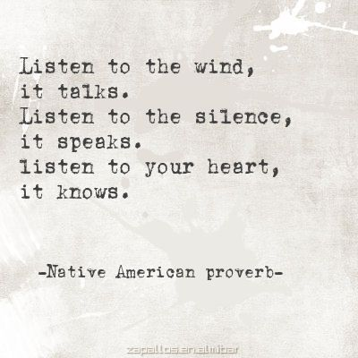 Silence is important.