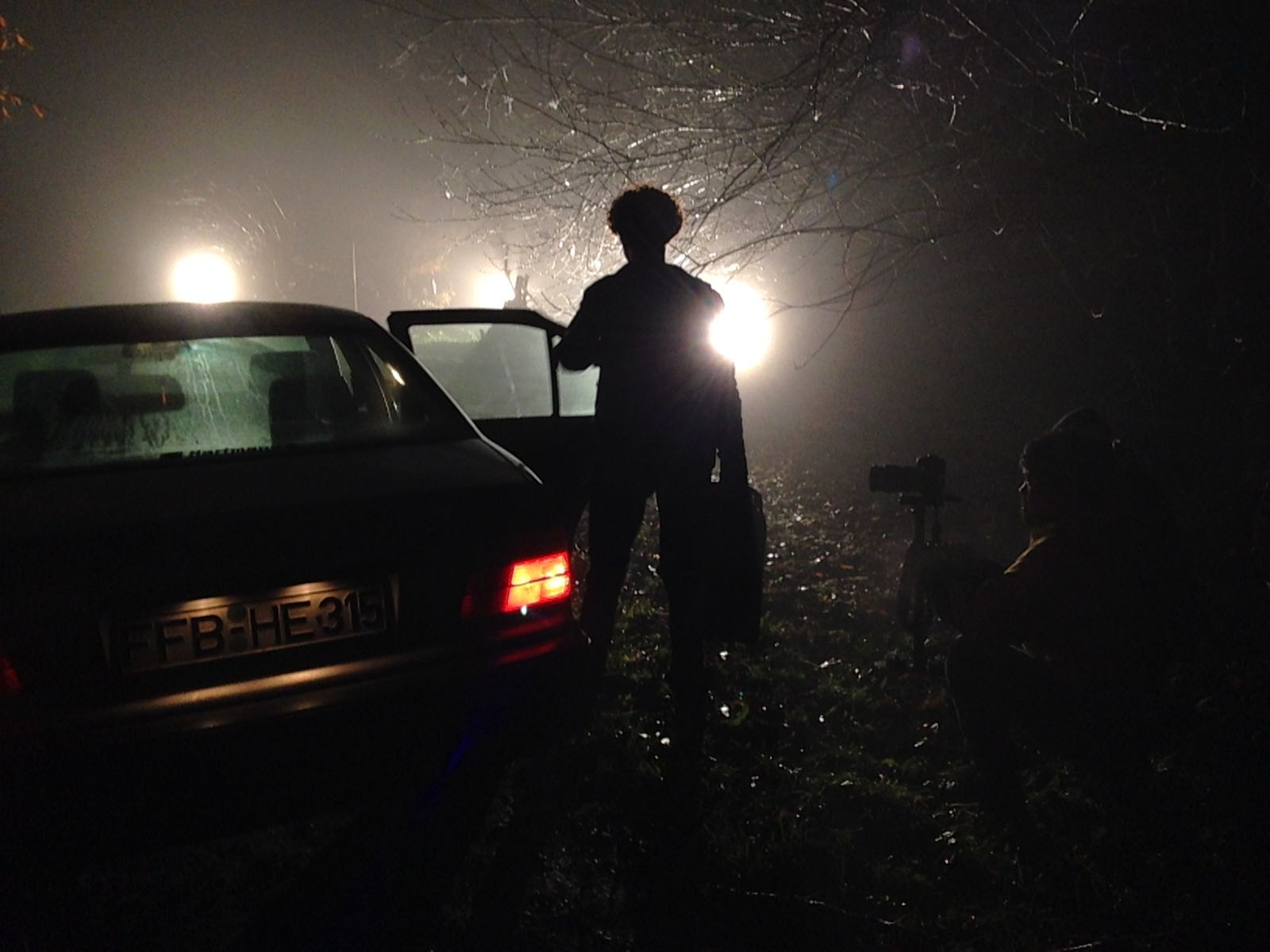 Games in the Darkness - Video Shooting day 1