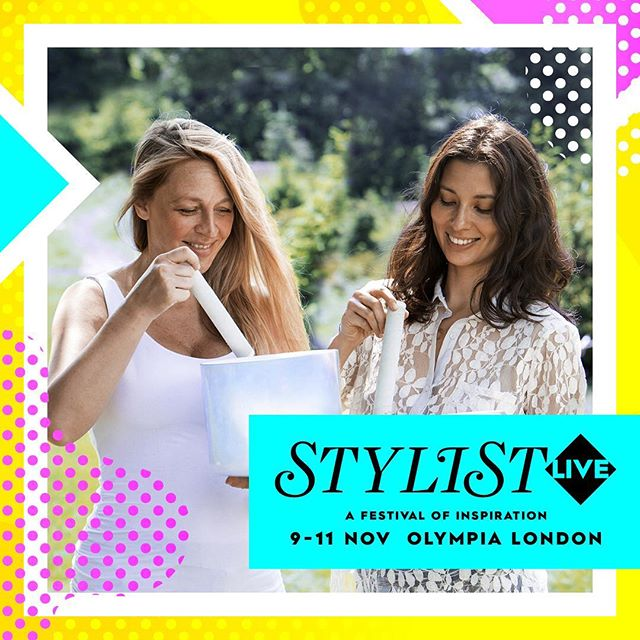We're still on a high after our sessions earlier this week and looking forward to welcoming more guests for an hour long crystal sound bath session at @stylistlive this Sunday. In the midst of the shopping, amazing line-up of talks and other activities, we'll be offering you the chance to breathe, relax and unwind. Join us from 4.45-5.45pm and see you there 💕🌟