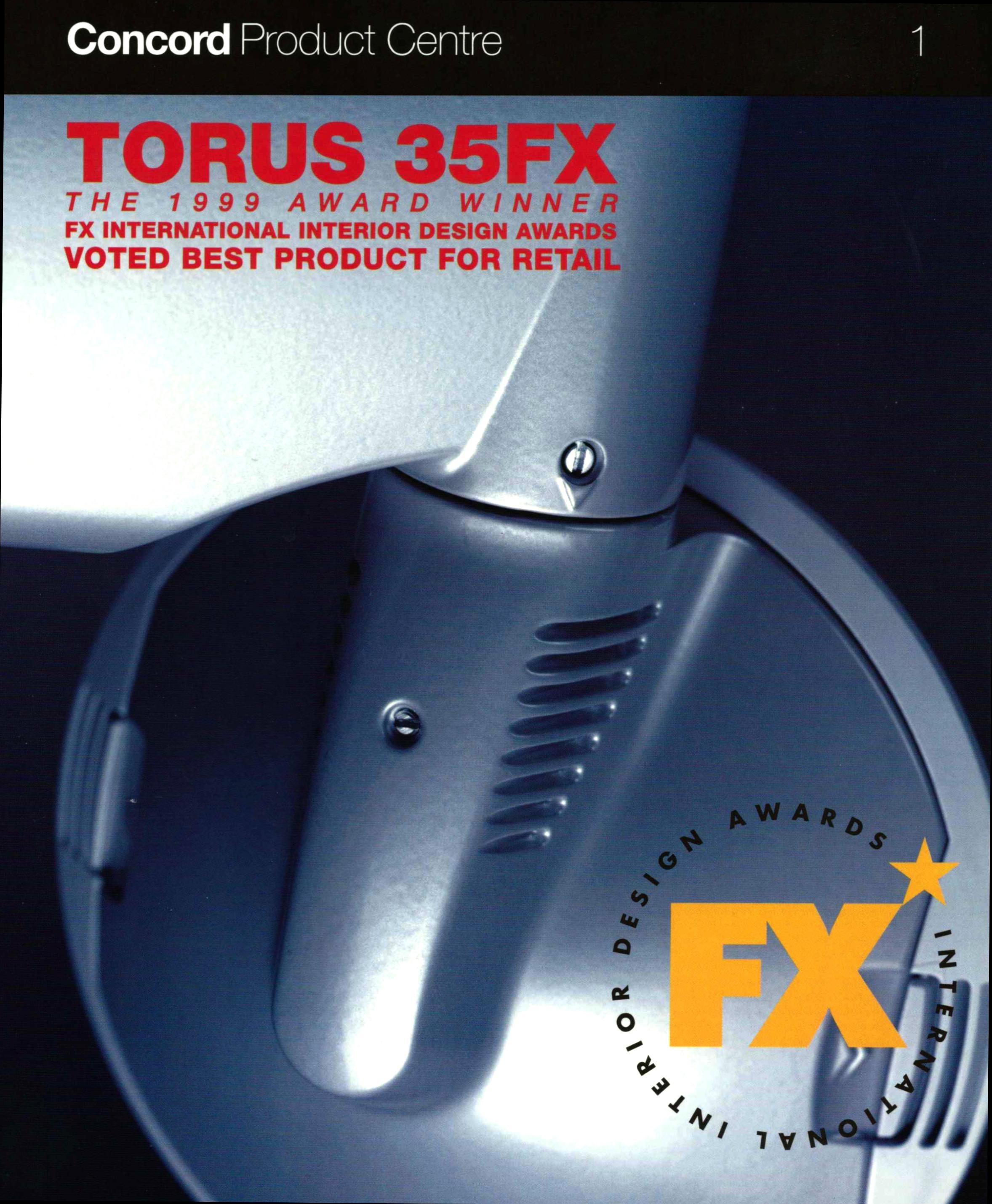 Concord Torus 35FX - Promotional Material