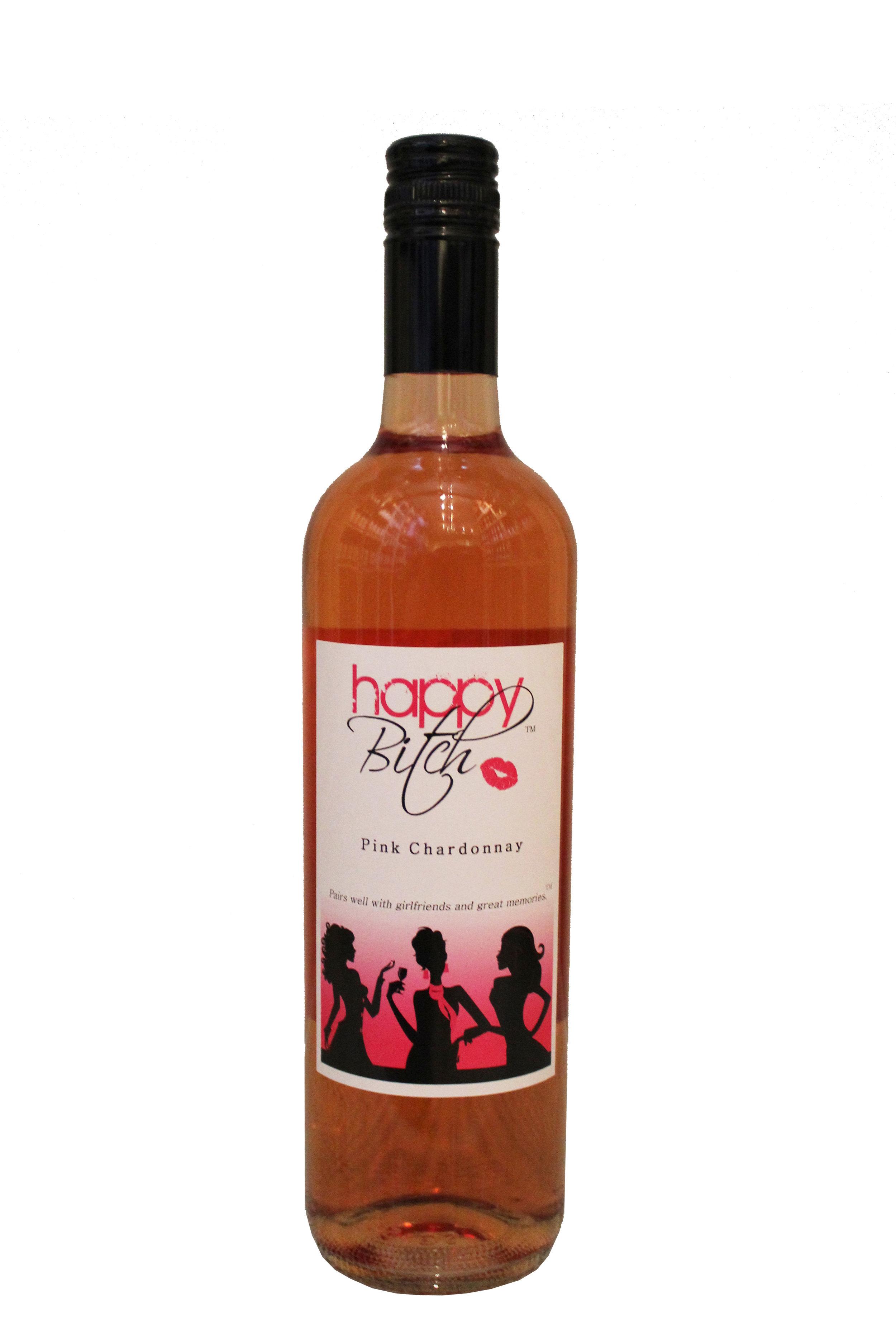 Pink Chardonnay  Happy Bitch, New York