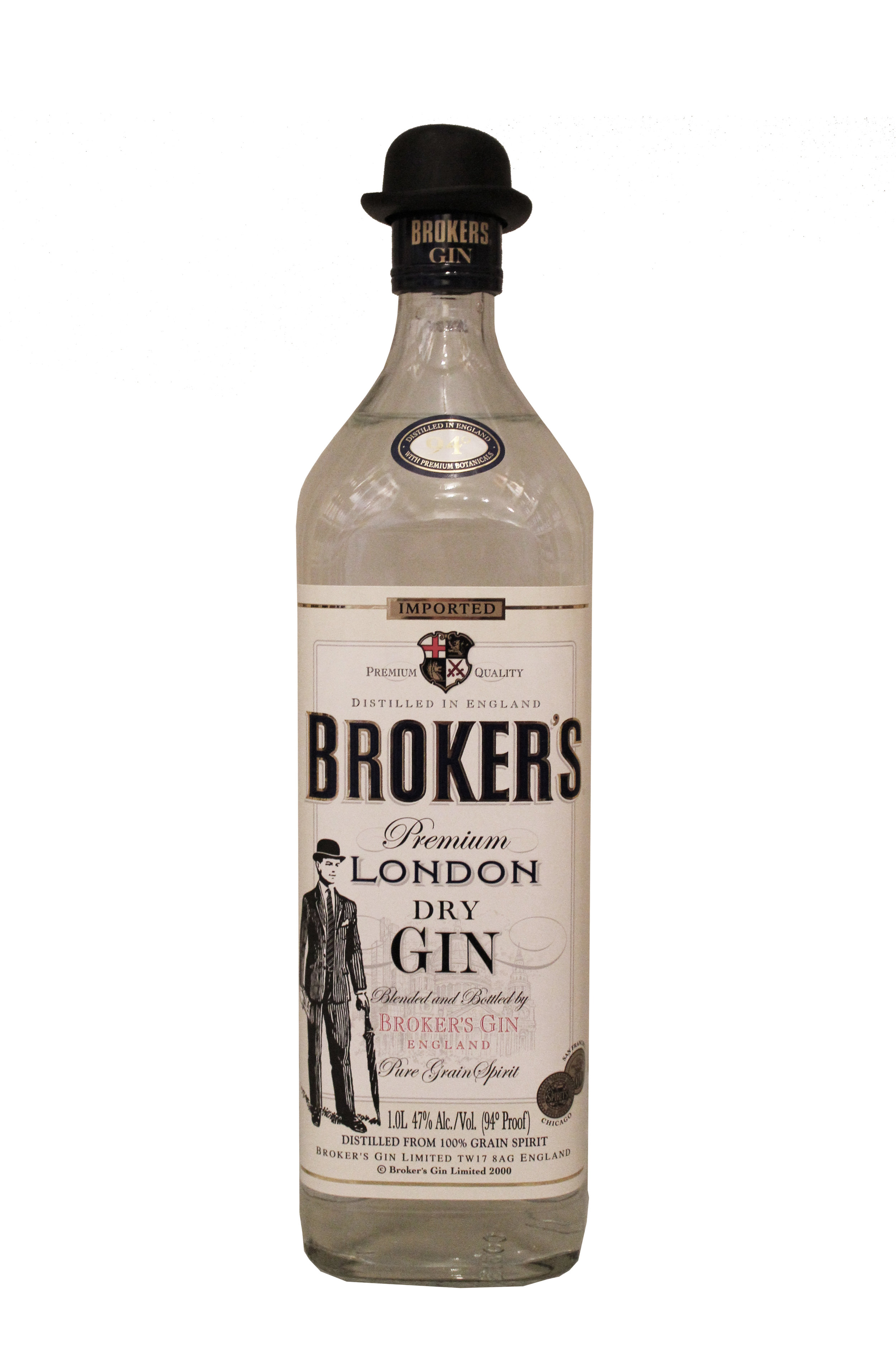 London Dry Gin  Brokers,  England
