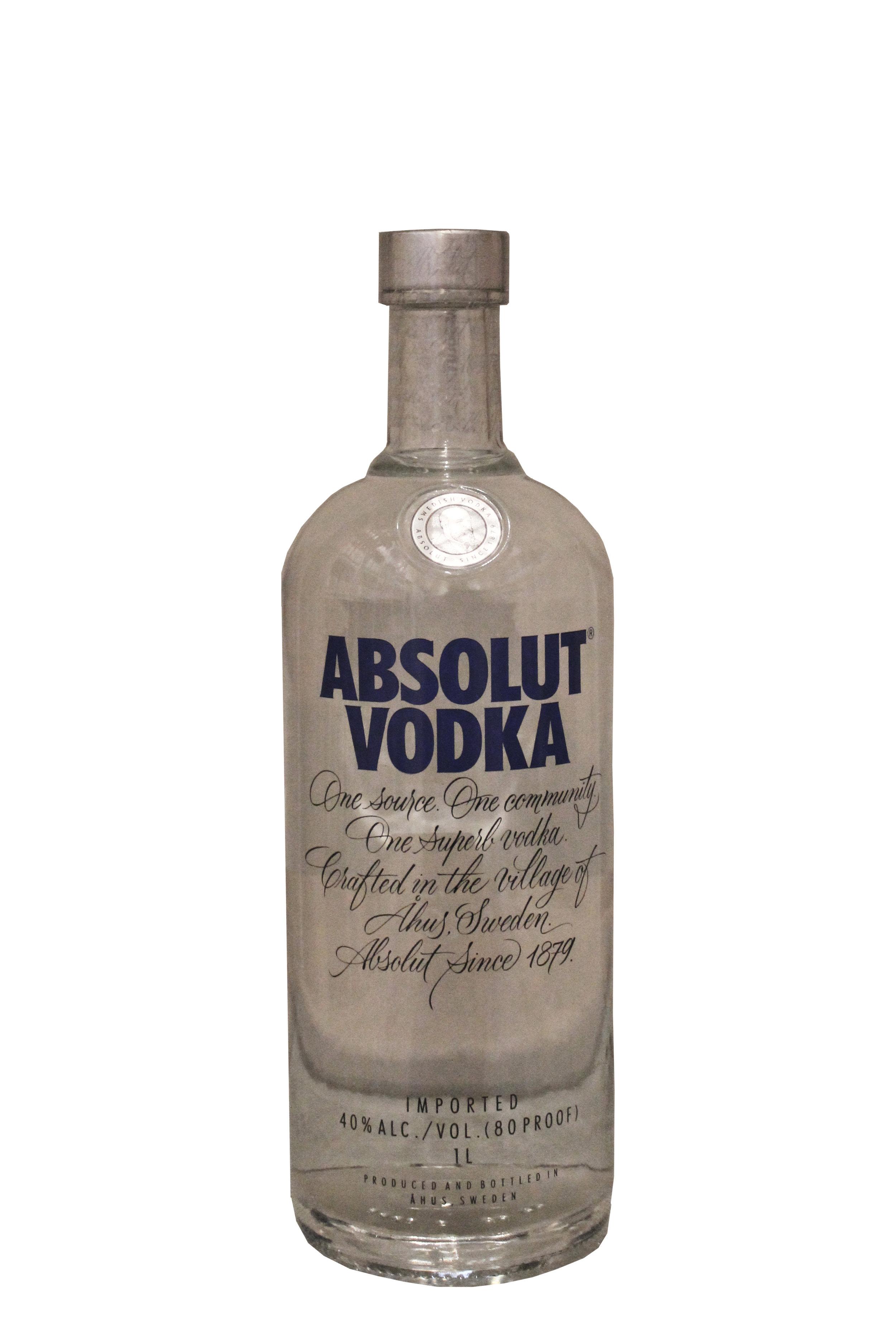 Premium Imported Vodka  Absolut, Sweden