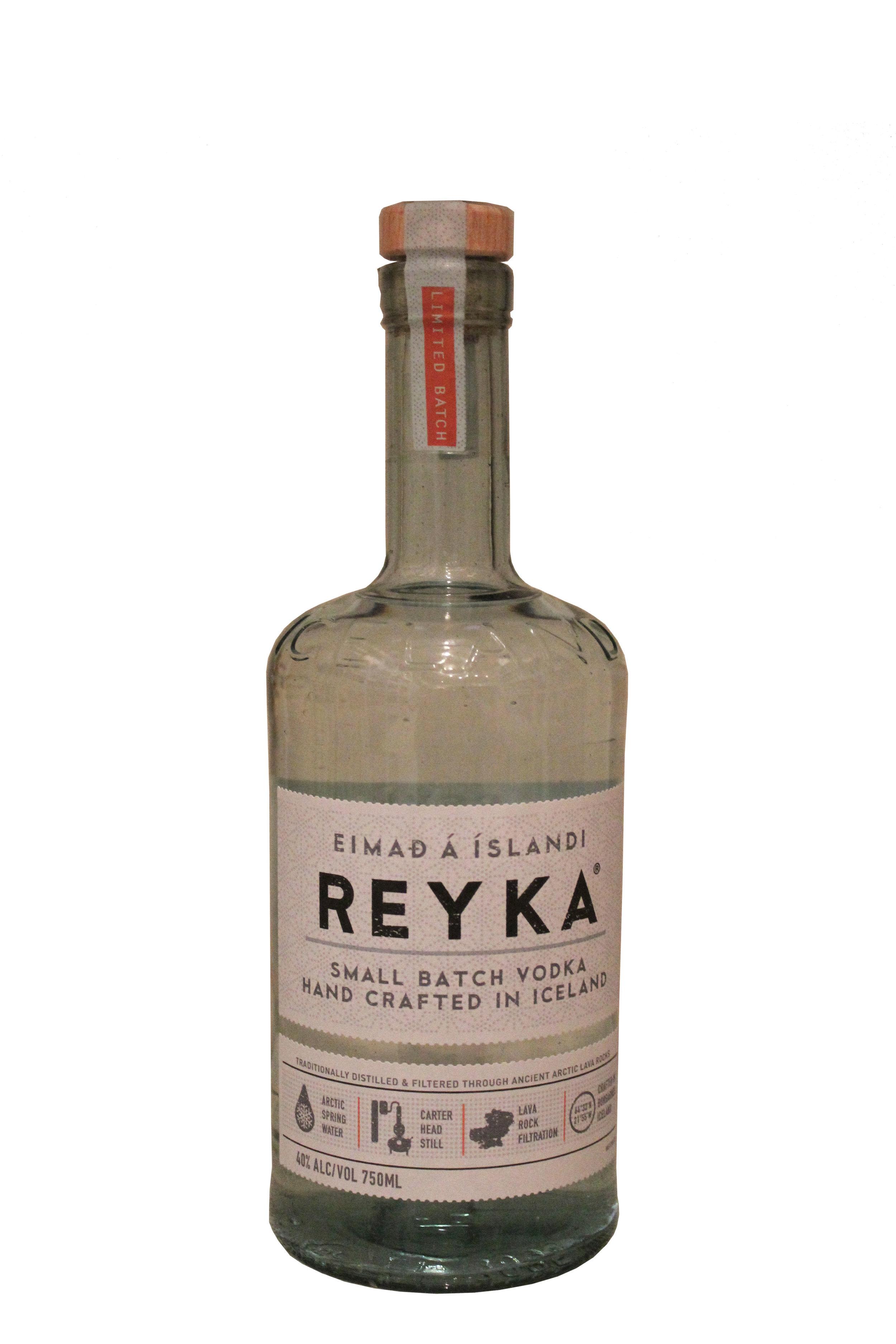 Small-Batch Handcrafted Vodka  Reyka, Iceland