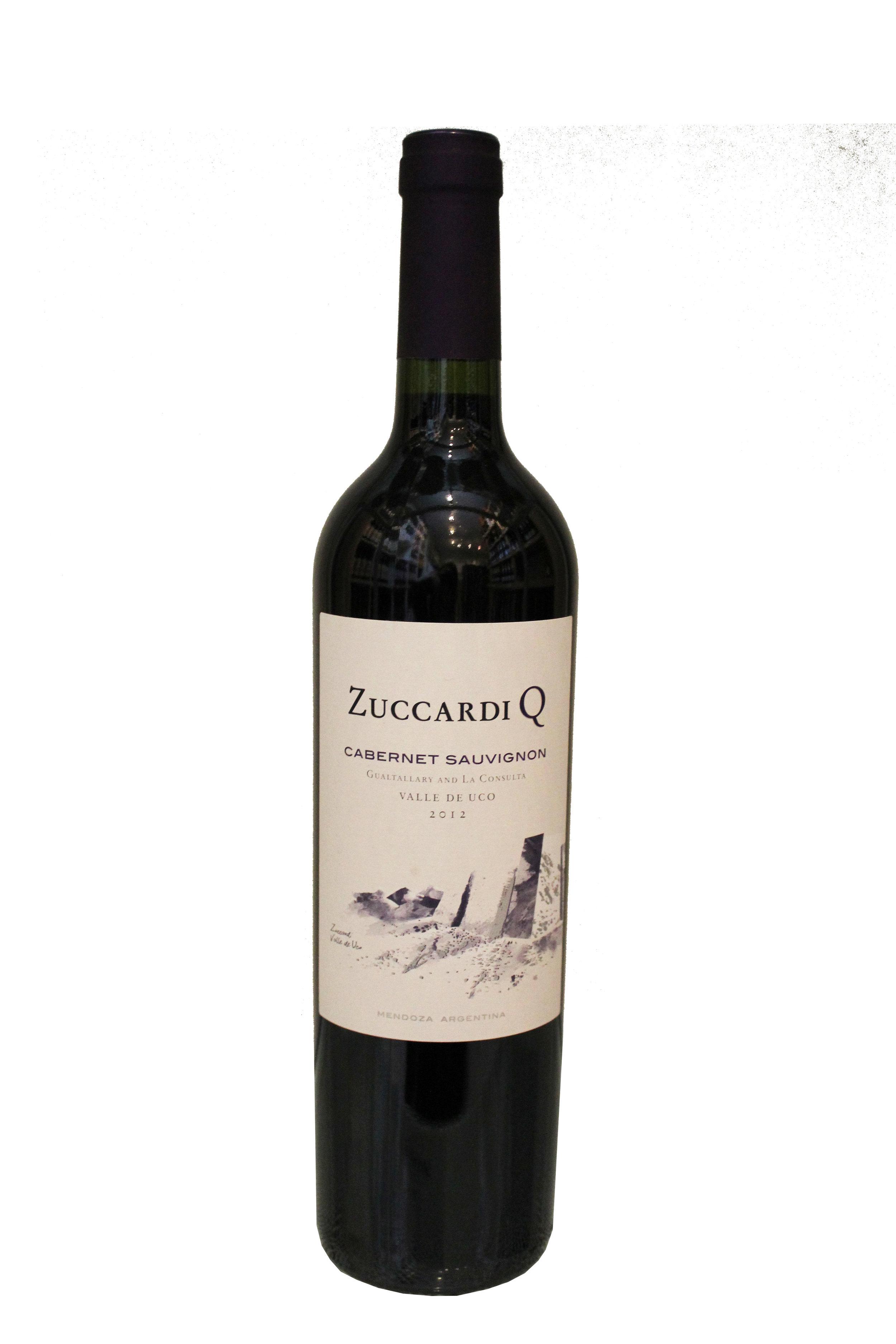 Cabernet Sauvignon  Zuccardi Q,  Argentina
