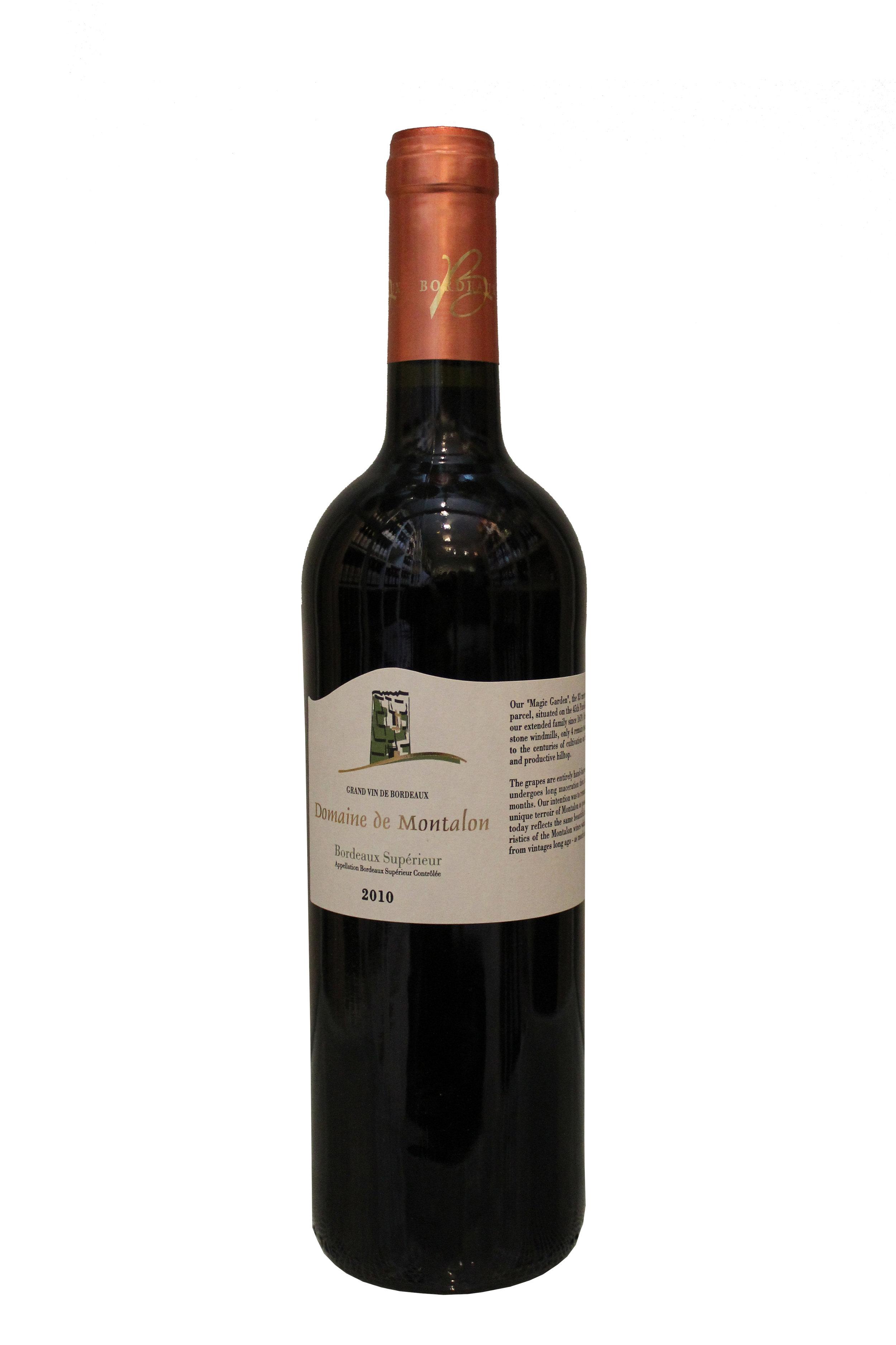 Bordeaux Supérieur Domaine de Mantalon, France