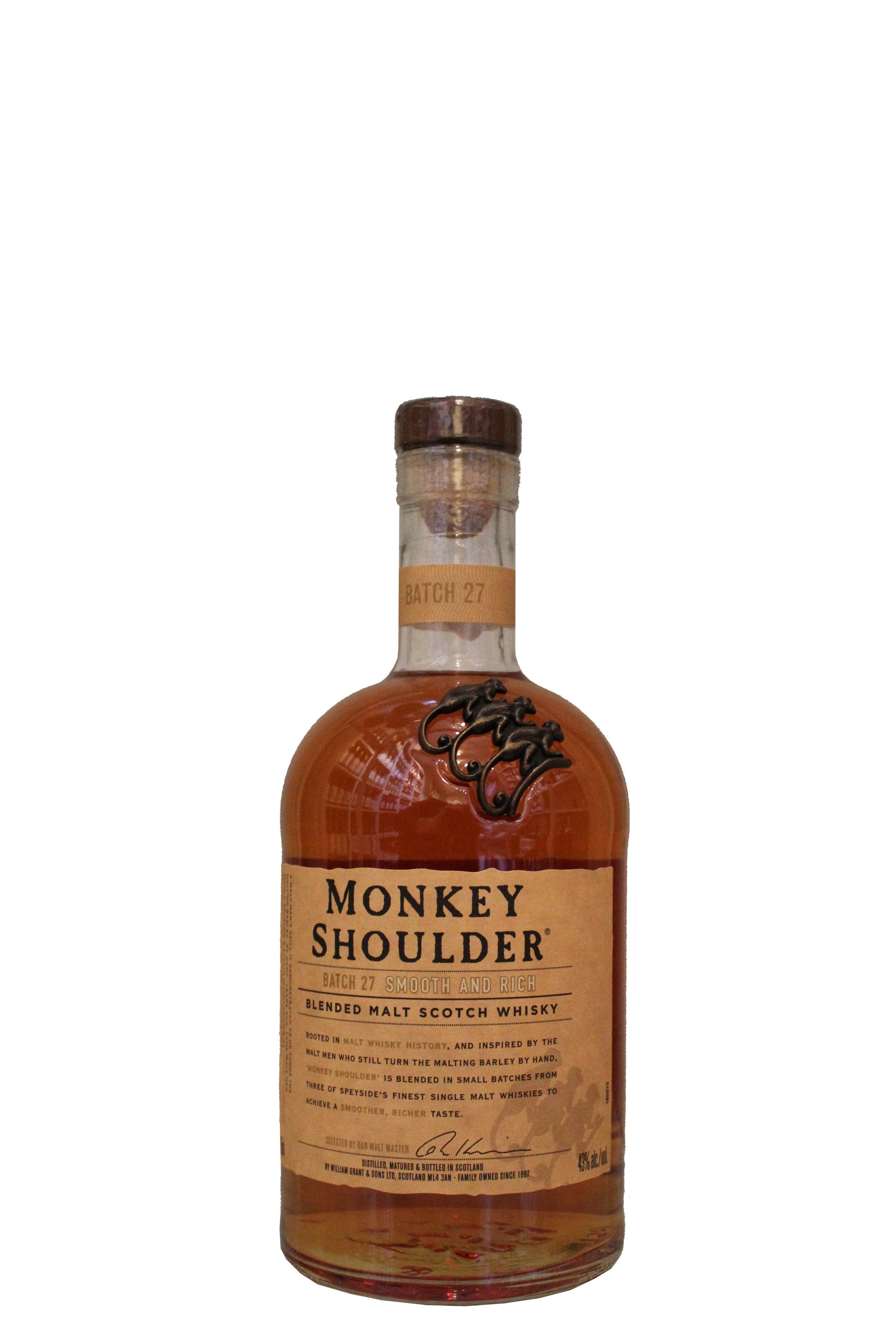 Malt Scotch Whiskey  Monkey Shoulder, Scotland