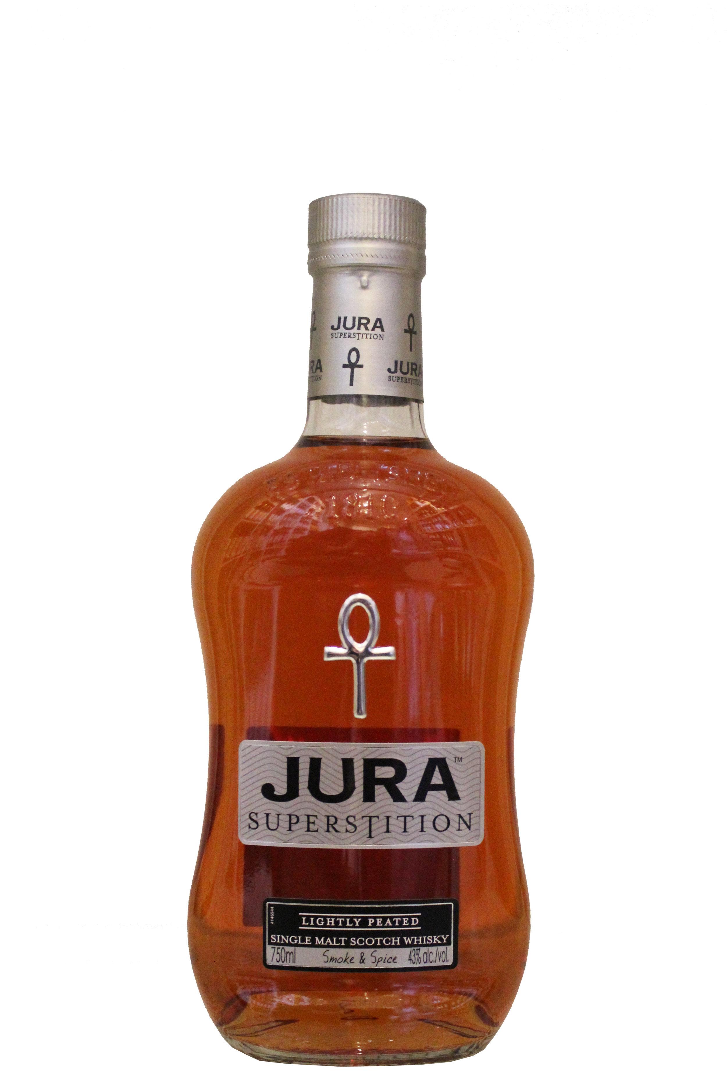 Single Malt Scotch Whiskey  Jura Superstition, Scotland