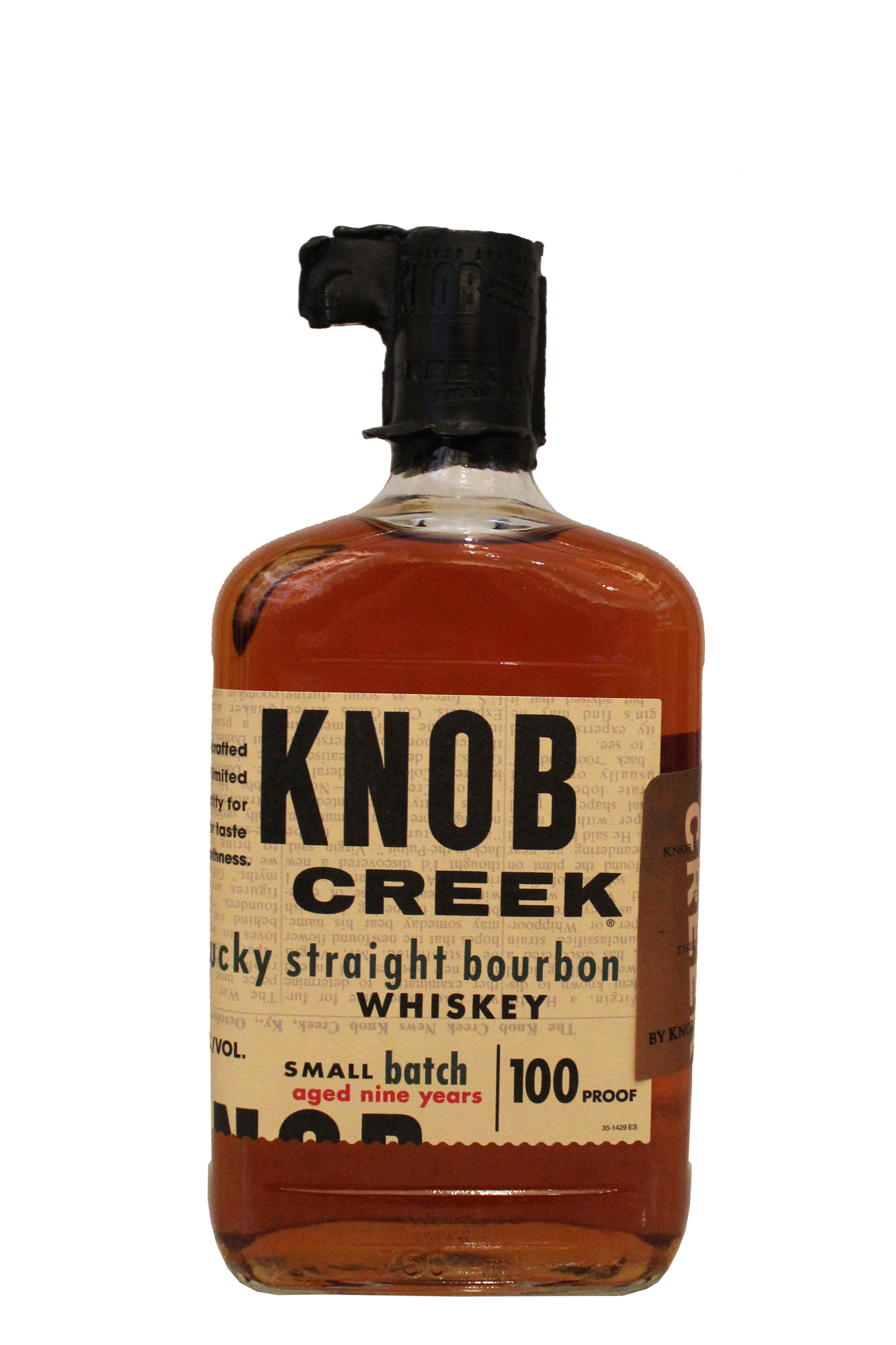 Small-Batch Bourbon  Knob Creek, Kentucky
