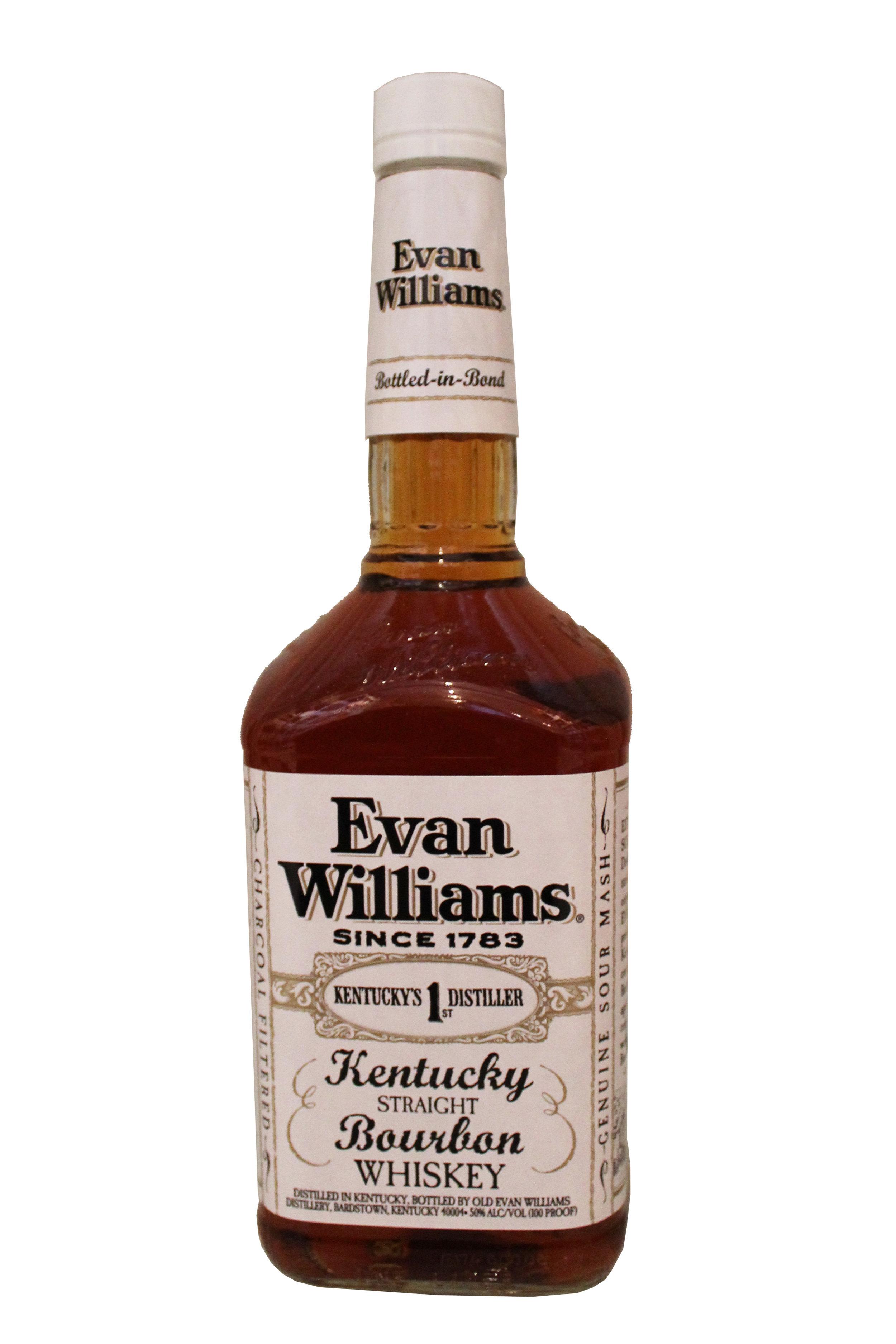 Bourbon Whiskey  Evan Williams, Kentucky