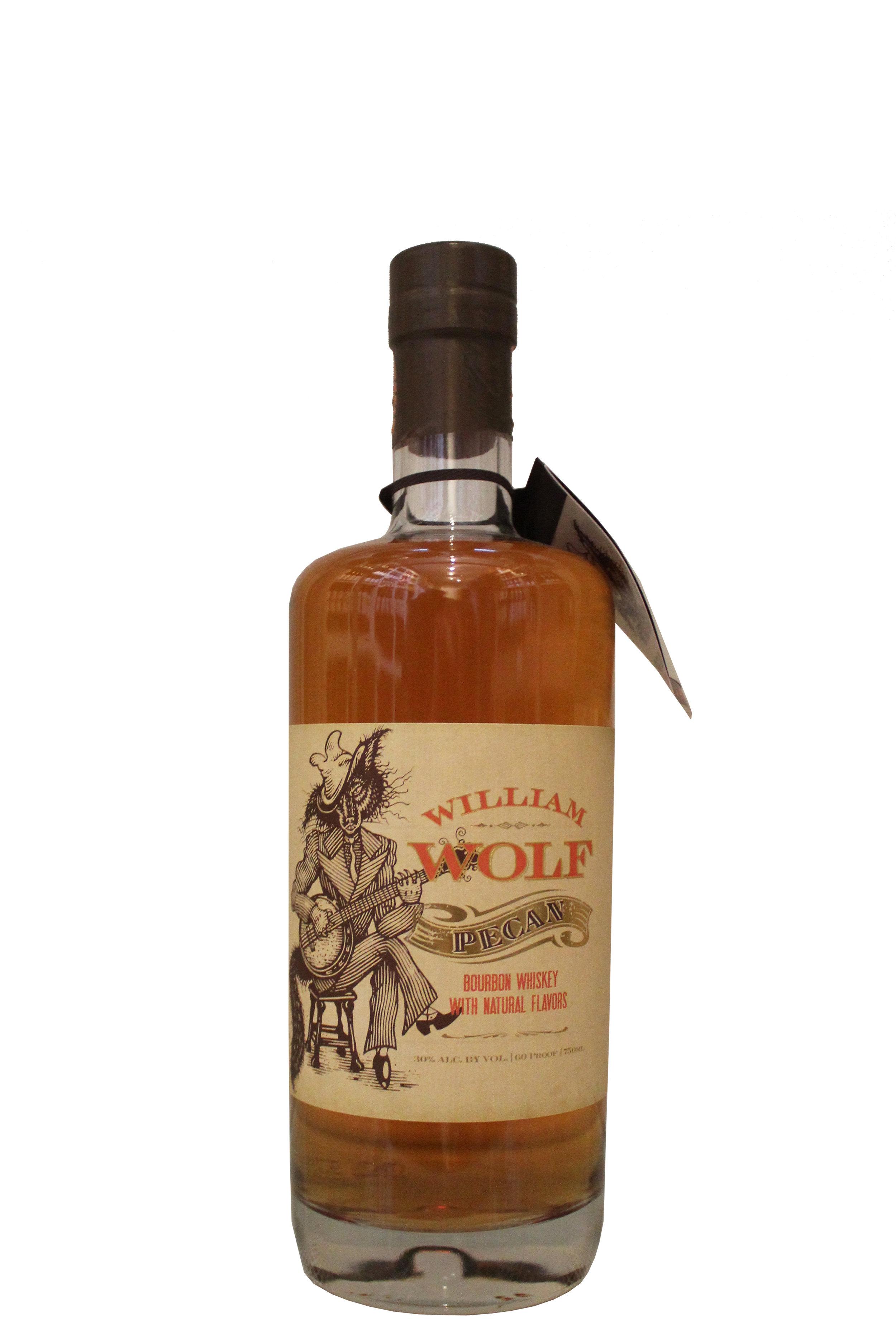 Pecan Bourbon Whiskey  William Wolf, Holland