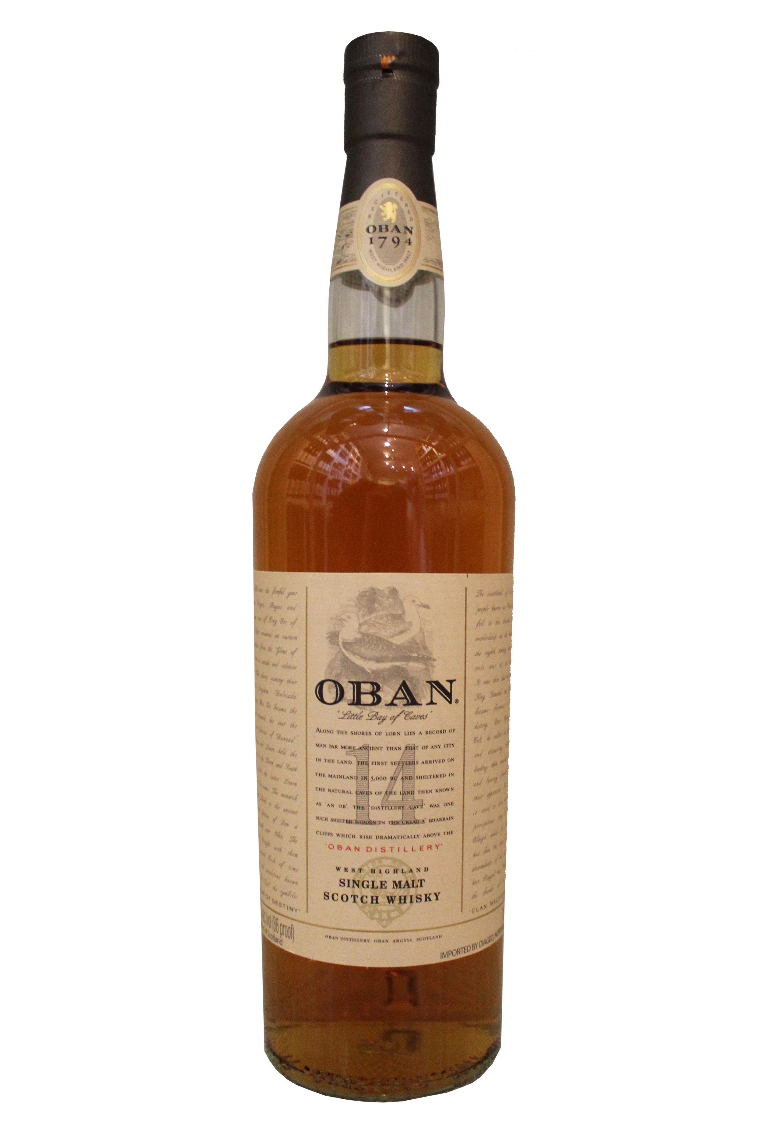 Single Malt Scotch Whiskey  Oban, Scotland
