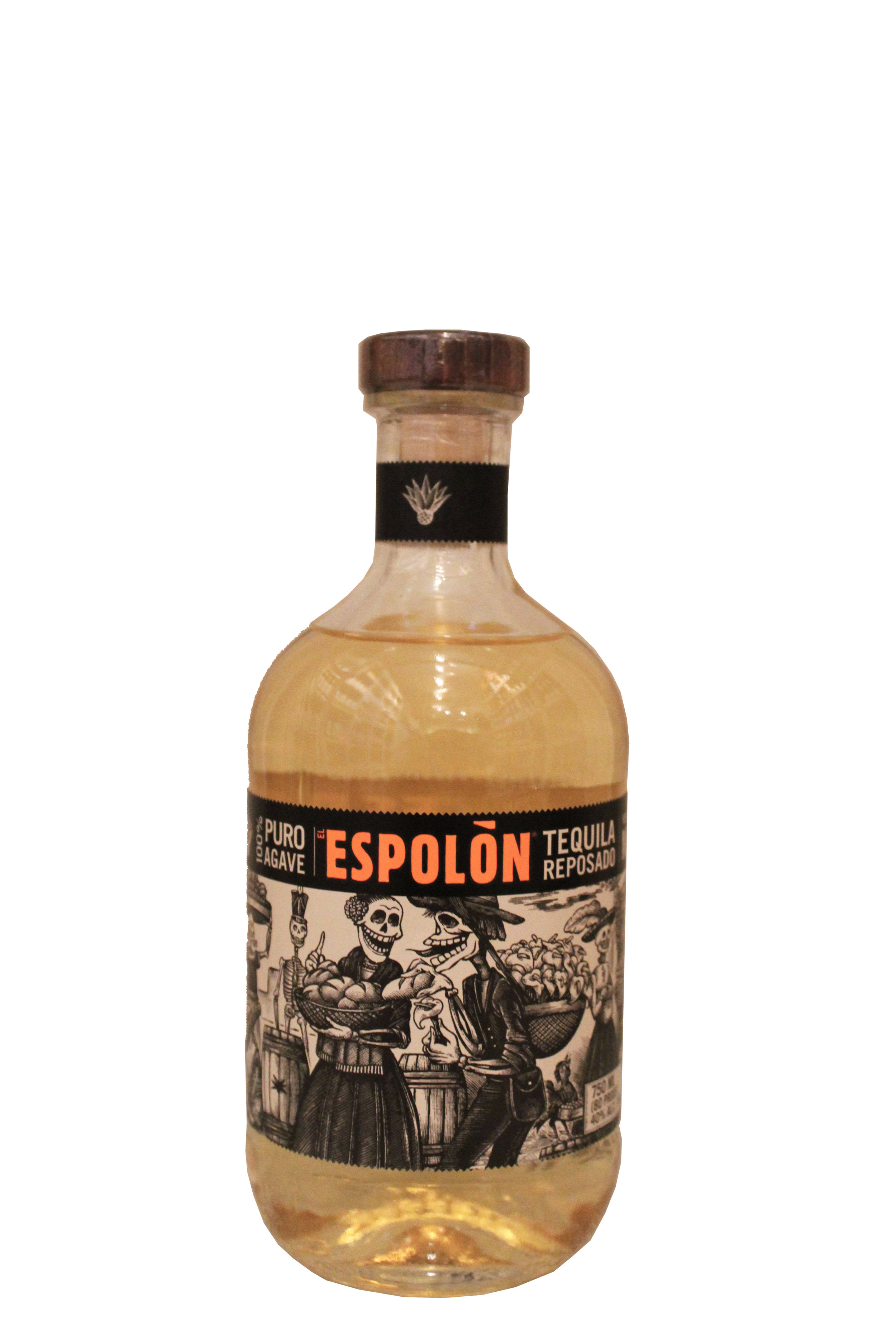 Agave Reposado Tequila  Espolon, Mexico