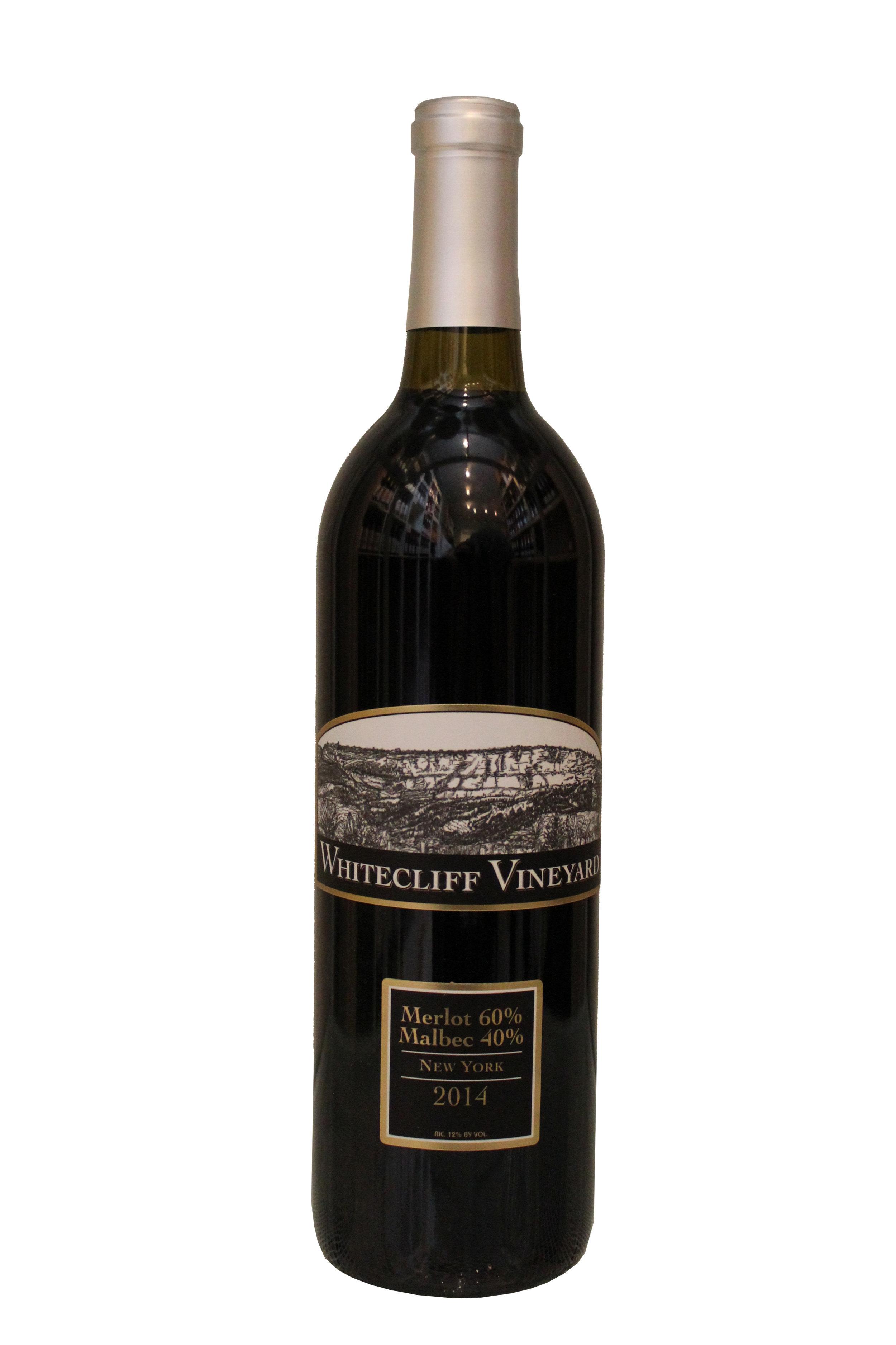 Merlot-Malbec Blend  Whitecliff Vineyard, New York