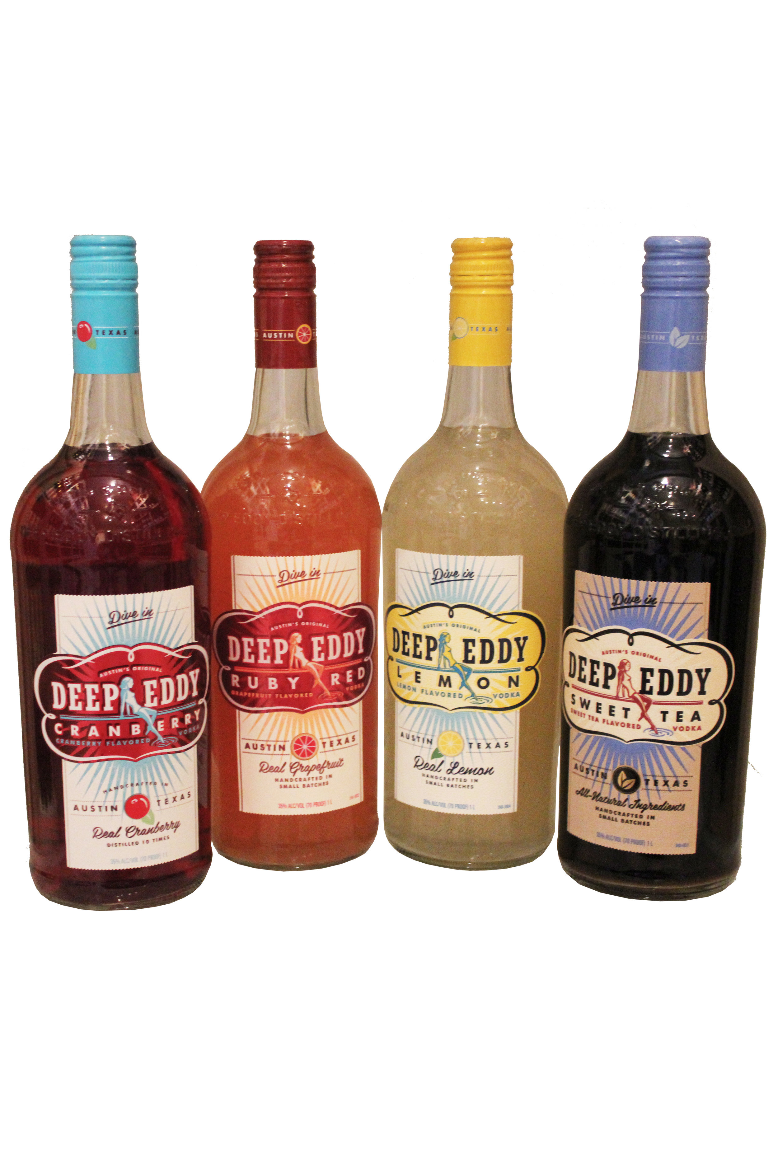 Deep Eddy Flavored Vodkas
