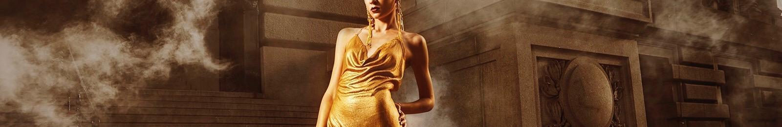 'Gotham Goddess'- Shot:The Financial District, Nyc