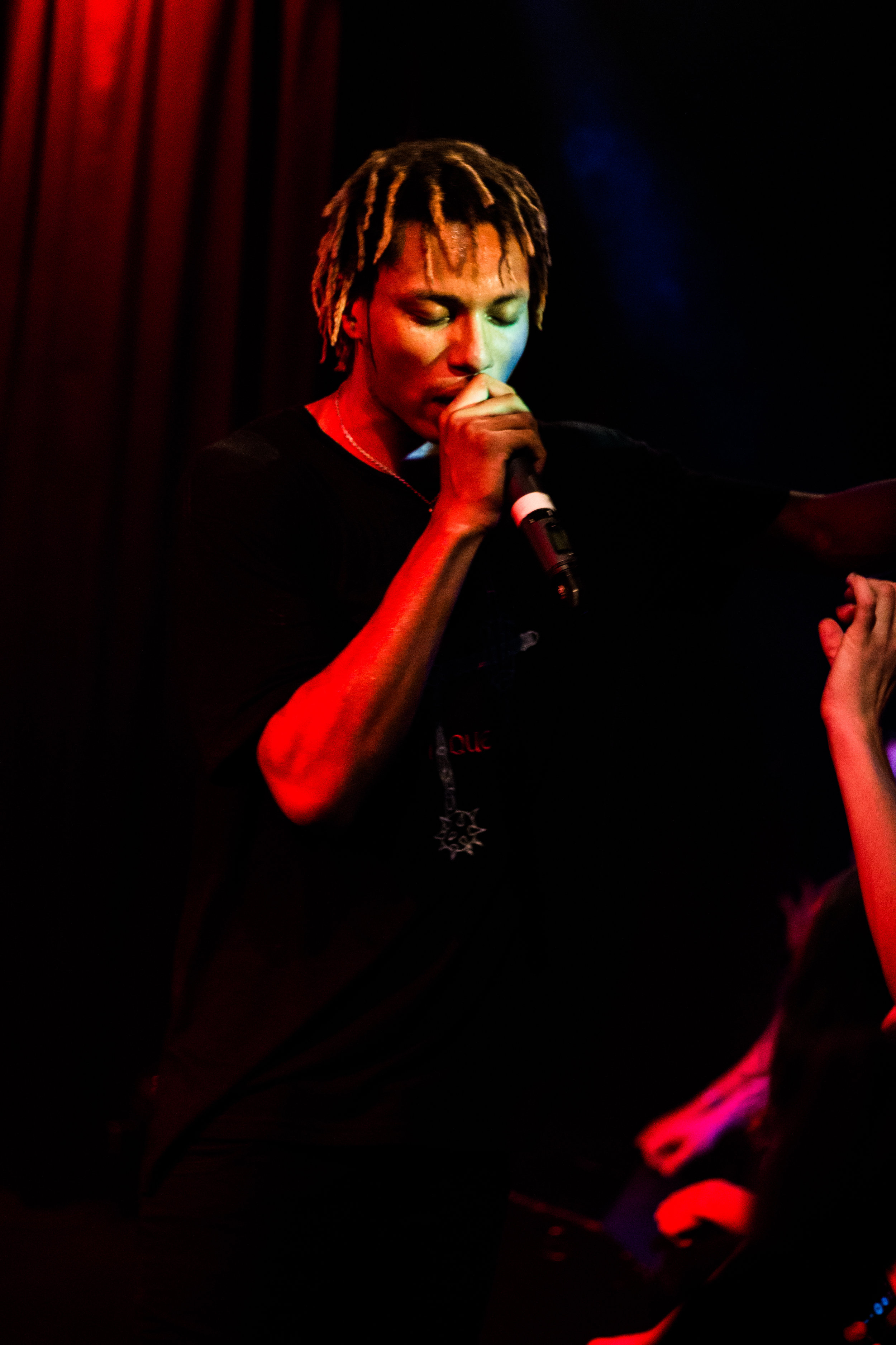 Night Lovell performing in Exil, Zurich. 2017.