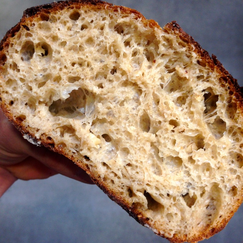 Oat Porridge Bread Crumb