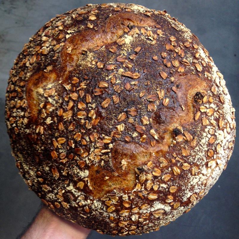 Tartine Oat Porridge Bread