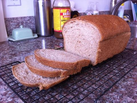 Produce manufacture wheat flour bread