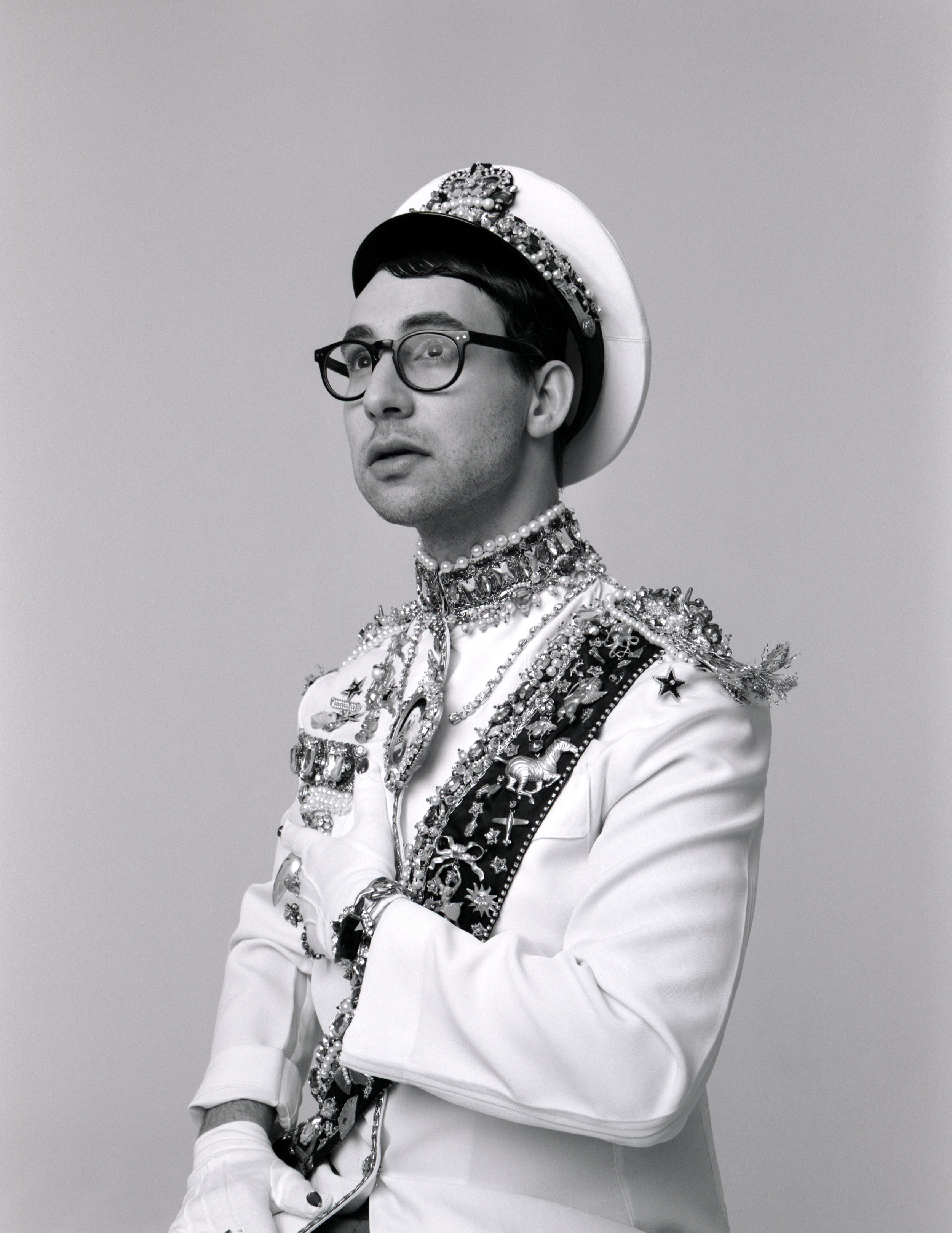 Jack Antonoff  Photographed by: Michael Bailey-Gates  Hair & Make-Up